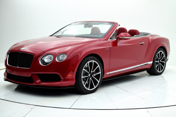 Bentley Continental GT V8 S 2014 Dragon Red For Sale $127880 Stock Number 1499JI 7101_p53