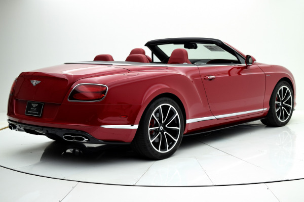 Bentley Continental GT V8 S 2014 Dragon Red For Sale $127880 Stock Number 1499JI 7101_p7