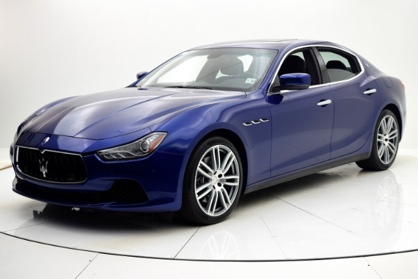 Maserati Ghibli 2015 Blue Emozione Mica For Sale $39880 Stock Number 2026JI 9295_p10