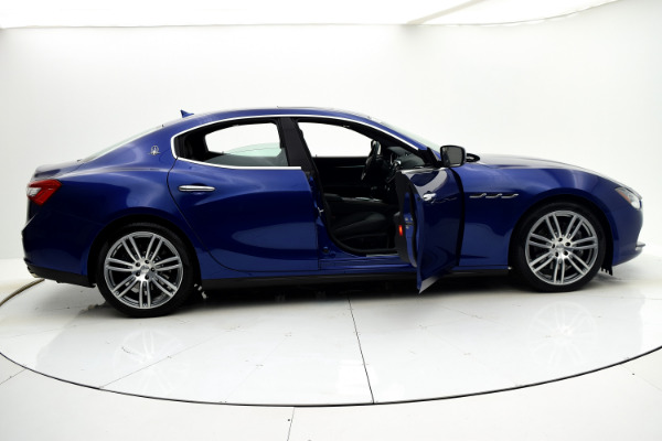Maserati Ghibli 2015 Blue Emozione Mica For Sale $39880 Stock Number 2026JI 9295_p25