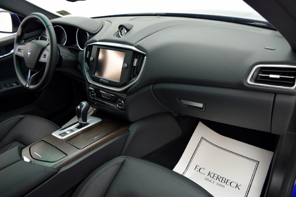 Maserati Ghibli 2015 Blue Emozione Mica For Sale $39880 Stock Number 2026JI 9295_p29