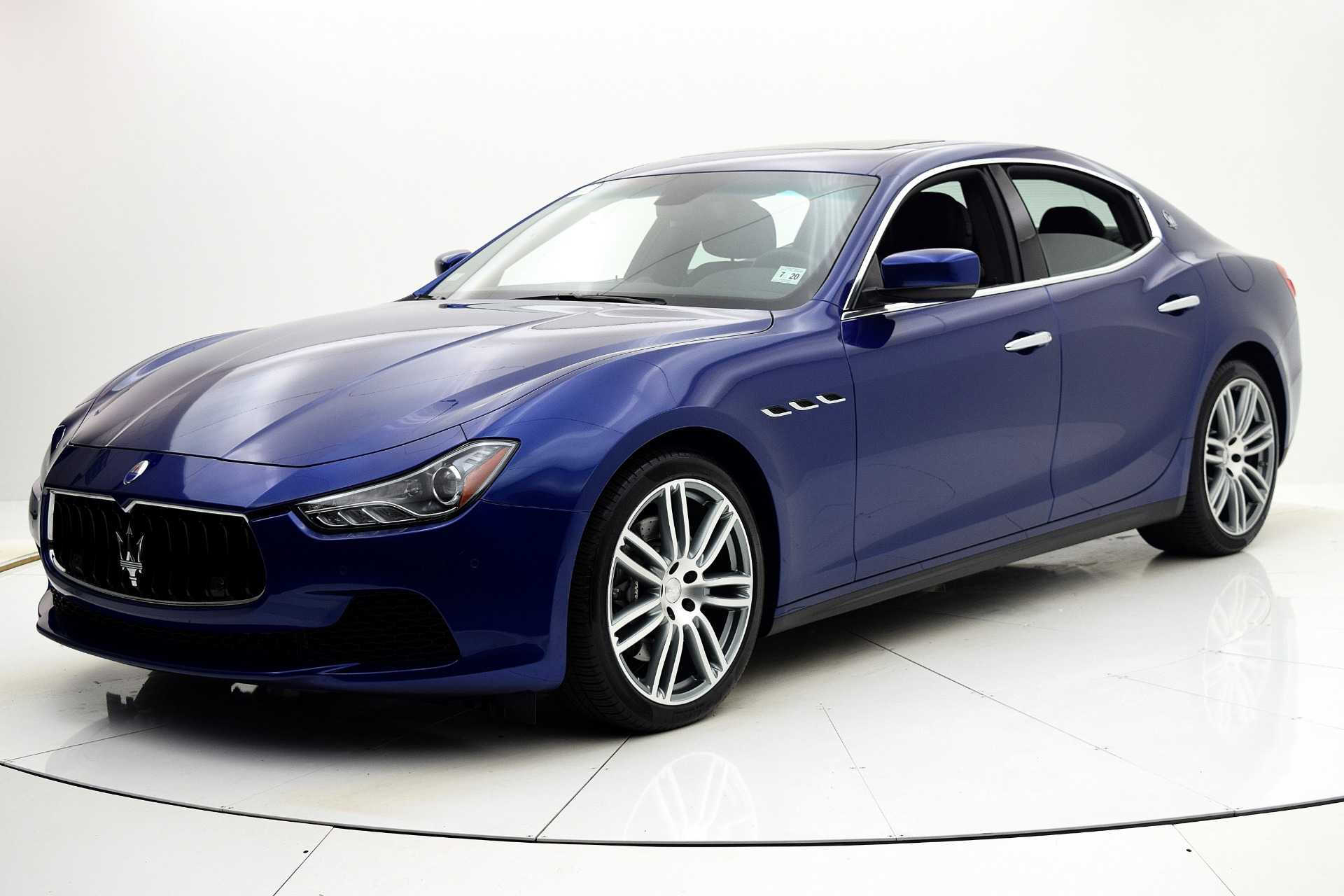 Maserati Ghibli 2015 Blue Emozione Mica For Sale $39880 Stock Number 2026JI