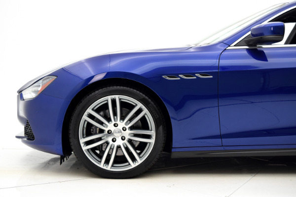 Maserati Ghibli 2015 Blue Emozione Mica For Sale $39880 Stock Number 2026JI 9295_p38
