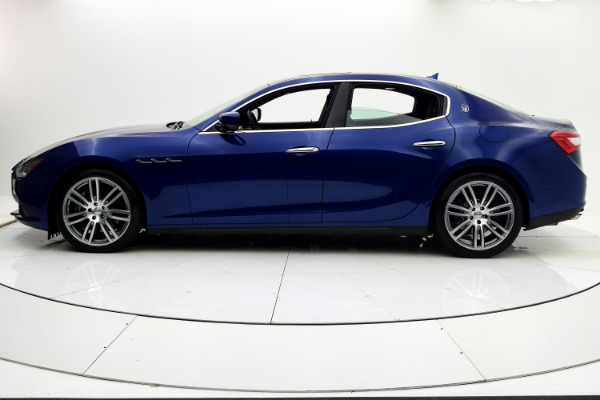 Maserati Ghibli 2015 Blue Emozione Mica For Sale $39880 Stock Number 2026JI 9295_p3