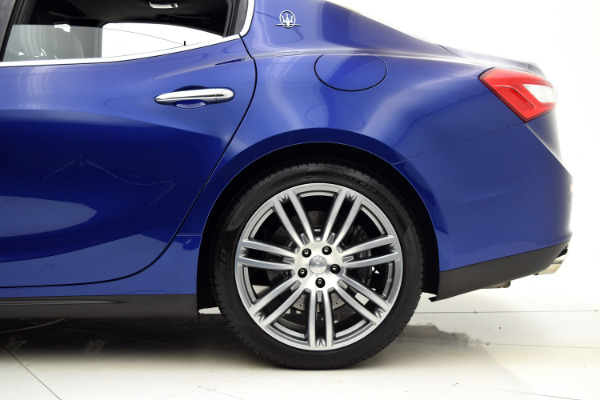 Maserati Ghibli 2015 Blue Emozione Mica For Sale $39880 Stock Number 2026JI 9295_p40