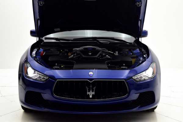 Maserati Ghibli 2015 Blue Emozione Mica For Sale $39880 Stock Number 2026JI 9295_p44