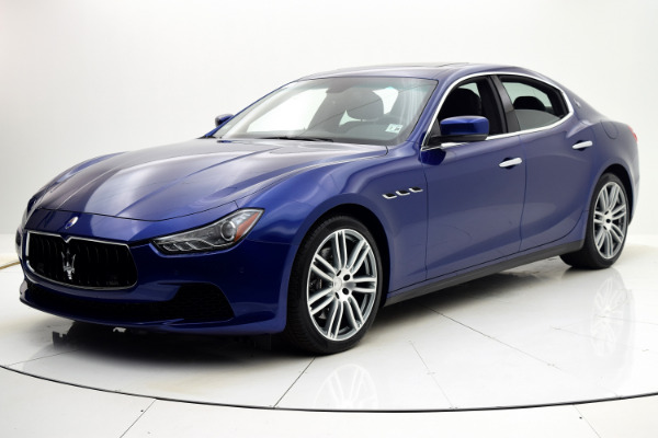 Maserati Ghibli 2015 Blue Emozione Mica For Sale $39880 Stock Number 2026JI 9295_p47