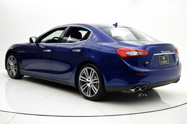 Maserati Ghibli 2015 Blue Emozione Mica For Sale $39880 Stock Number 2026JI 9295_p4