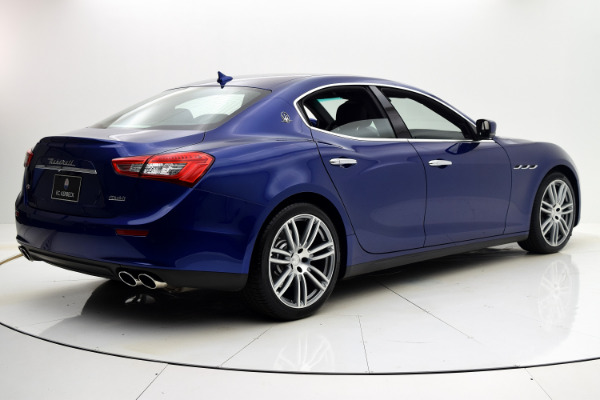 Maserati Ghibli 2015 Blue Emozione Mica For Sale $39880 Stock Number 2026JI 9295_p6