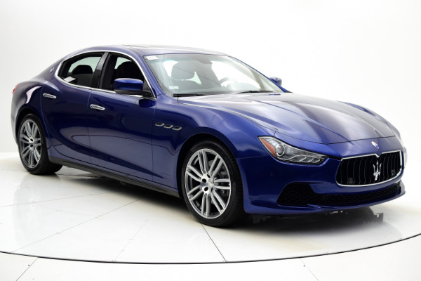 Maserati Ghibli 2015 Blue Emozione Mica For Sale $39880 Stock Number 2026JI 9295_p8
