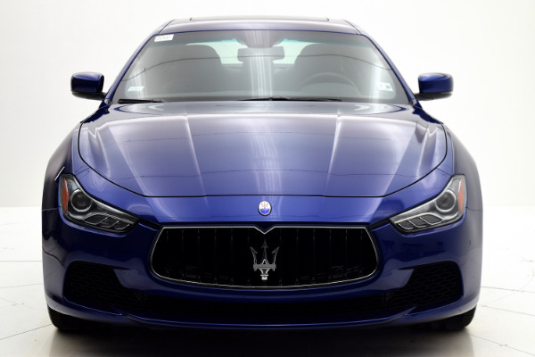 Maserati Ghibli 2015 Blue Emozione Mica For Sale $39880 Stock Number 2026JI 9295_p9