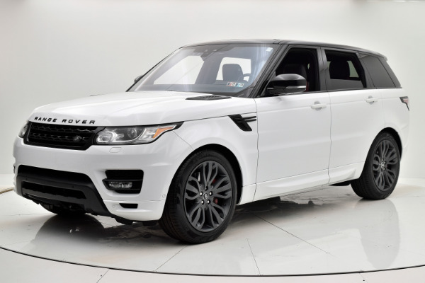 Land Rover Range Rover Sport 2017 White For Sale $73880 Stock Number 18BE109AJI 9440_p10