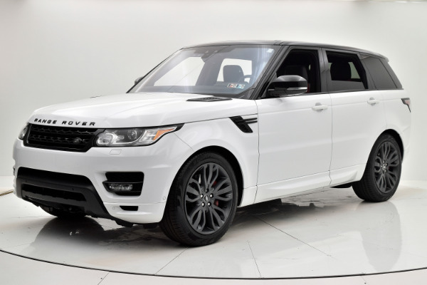 Land Rover Range Rover Sport 2017 White For Sale $73880 Stock Number 18BE109AJI 9440_p37