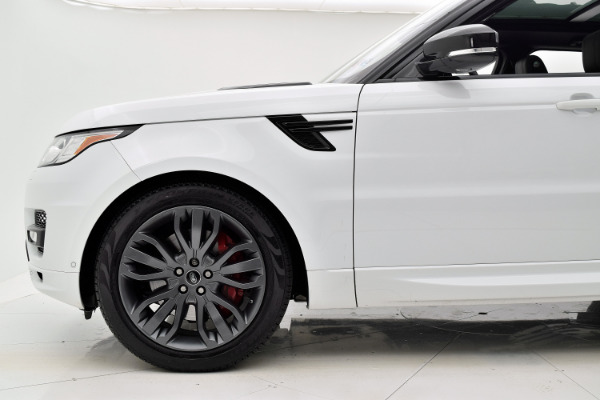 Land Rover Range Rover Sport 2017 White For Sale $73880 Stock Number 18BE109AJI 9440_p38