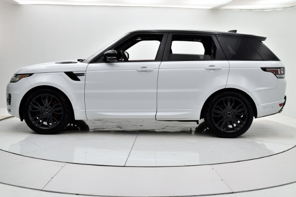 Land Rover Range Rover Sport 2017 White For Sale $73880 Stock Number 18BE109AJI 9440_p3