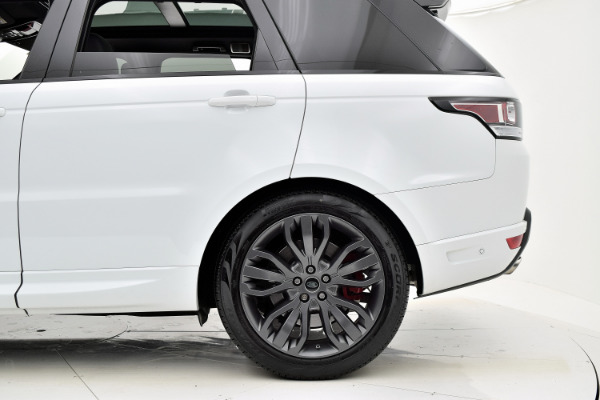 Land Rover Range Rover Sport 2017 White For Sale $73880 Stock Number 18BE109AJI 9440_p40