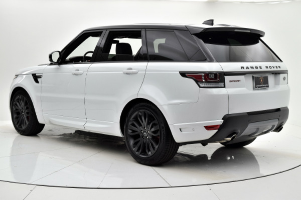 Land Rover Range Rover Sport 2017 White For Sale $73880 Stock Number 18BE109AJI 9440_p4