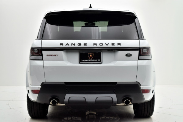 Land Rover Range Rover Sport 2017 White For Sale $73880 Stock Number 18BE109AJI 9440_p5