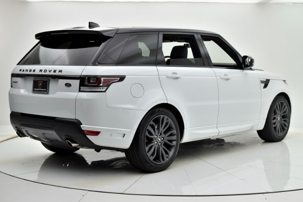 Land Rover Range Rover Sport 2017 White For Sale $73880 Stock Number 18BE109AJI 9440_p6