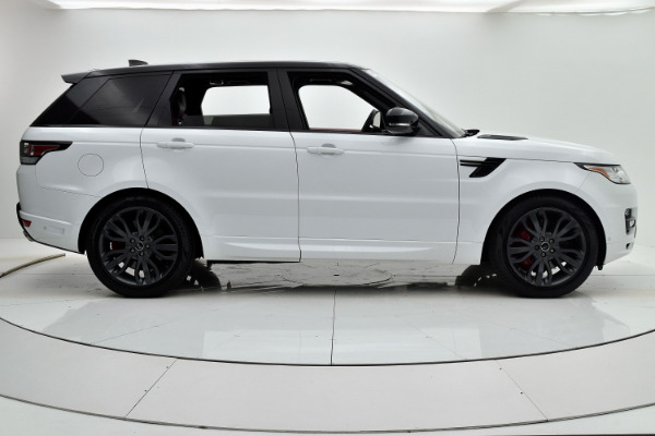 Land Rover Range Rover Sport 2017 White For Sale $73880 Stock Number 18BE109AJI 9440_p7