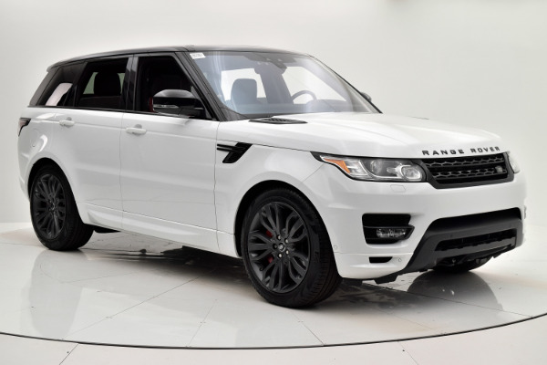 Land Rover Range Rover Sport 2017 White For Sale $73880 Stock Number 18BE109AJI 9440_p8