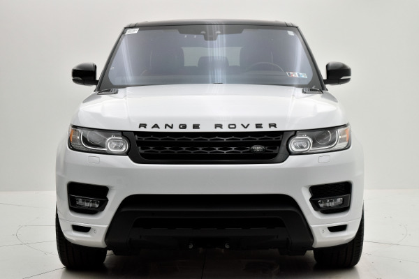 Land Rover Range Rover Sport 2017 White For Sale $73880 Stock Number 18BE109AJI 9440_p9