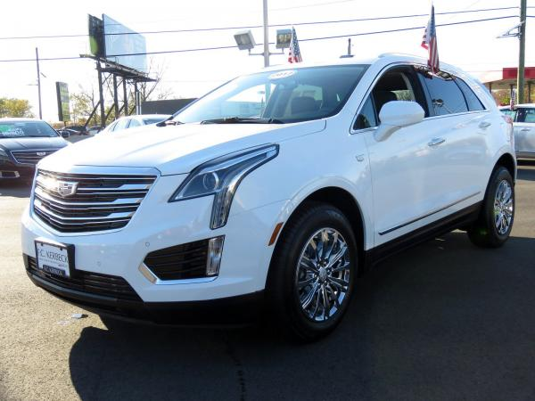 Cadillac XT5 2017 Crystal White Tricoat For Sale $47240 Stock Number 67330K 9560_p4