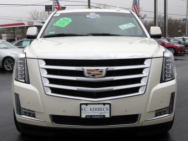 Cadillac Escalade 2015 White Diamond Tricoat For Sale $58849 Stock Number 67417K 9797_p3