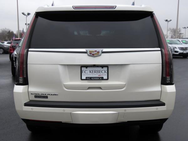 Cadillac Escalade 2015 White Diamond Tricoat For Sale $58849 Stock Number 67417K 9797_p6