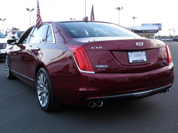 Cadillac CT6 2016 Red Passion Tintcoat For Sale $43589 Stock Number 67458K 9932_p5
