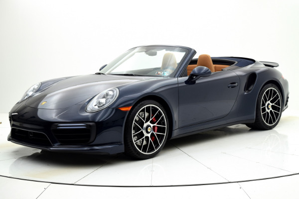 Used 2019 Porsche 911 Turbo Cabriolet for sale Sold at F.C. Kerbeck Lamborghini Palmyra N.J. in Palmyra NJ 08065 2