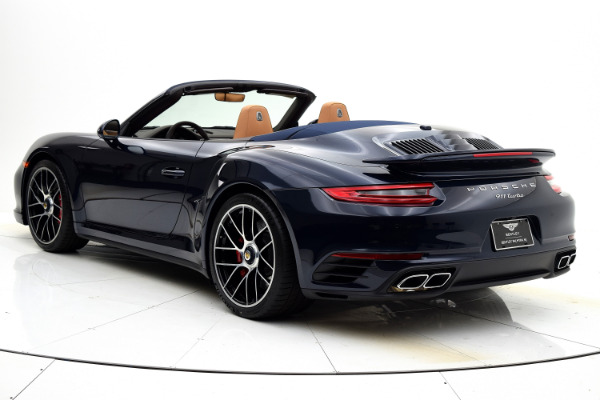 Used 2019 Porsche 911 Turbo Cabriolet for sale Sold at F.C. Kerbeck Lamborghini Palmyra N.J. in Palmyra NJ 08065 4