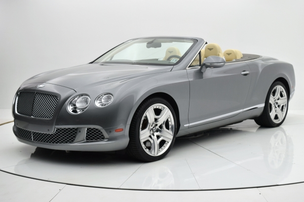 Used 2012 Bentley Continental GT W12 Convertible for sale $92,880 at F.C. Kerbeck Lamborghini Palmyra N.J. in Palmyra NJ 08065 2