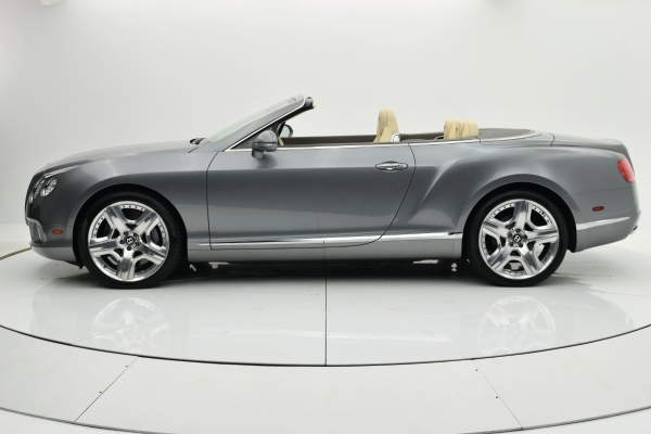Used 2012 Bentley Continental GT W12 Convertible for sale $92,880 at F.C. Kerbeck Lamborghini Palmyra N.J. in Palmyra NJ 08065 3