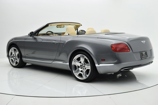 Used 2012 Bentley Continental GT W12 Convertible for sale $92,880 at F.C. Kerbeck Lamborghini Palmyra N.J. in Palmyra NJ 08065 4