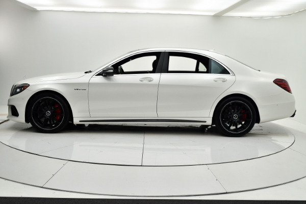 Used 2017 Mercedes-Benz S-Class AMG S 63 for sale Sold at F.C. Kerbeck Lamborghini Palmyra N.J. in Palmyra NJ 08065 3