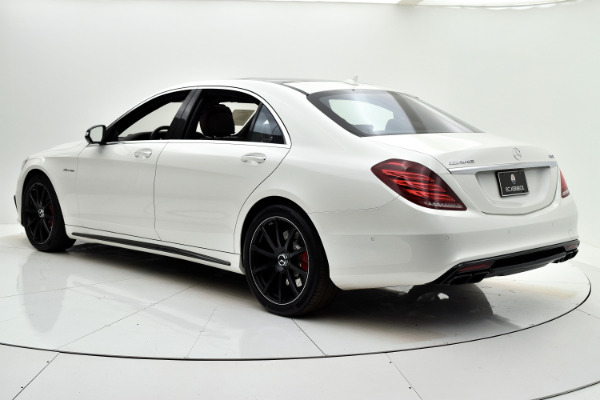 Used 2017 Mercedes-Benz S-Class AMG S 63 for sale Sold at F.C. Kerbeck Lamborghini Palmyra N.J. in Palmyra NJ 08065 4