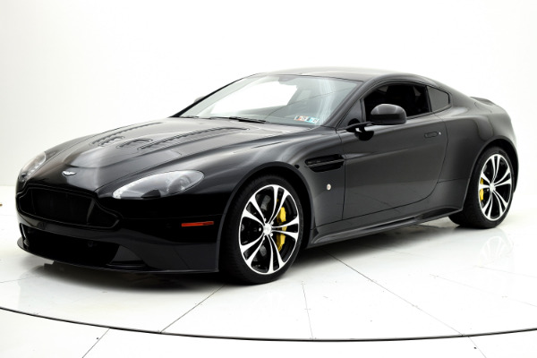 Used 2015 Aston Martin V12 Vantage S Coupe for sale Sold at F.C. Kerbeck Lamborghini Palmyra N.J. in Palmyra NJ 08065 2