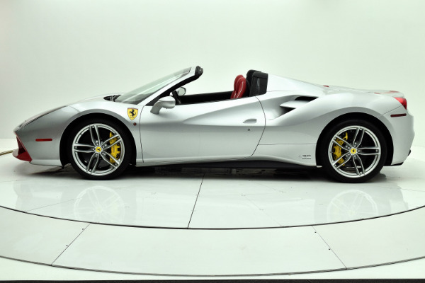 Used 2018 Ferrari 488 Spider 70th Anniversary for sale $399,880 at F.C. Kerbeck Lamborghini Palmyra N.J. in Palmyra NJ 08065 3