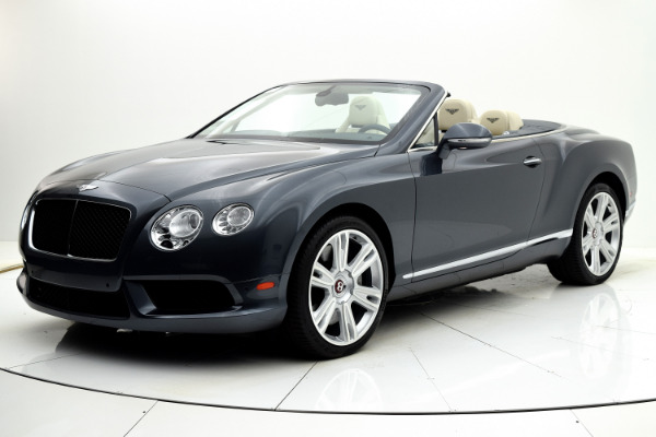 Used 2013 Bentley Continental GT V8 Convertible for sale Sold at F.C. Kerbeck Lamborghini Palmyra N.J. in Palmyra NJ 08065 2