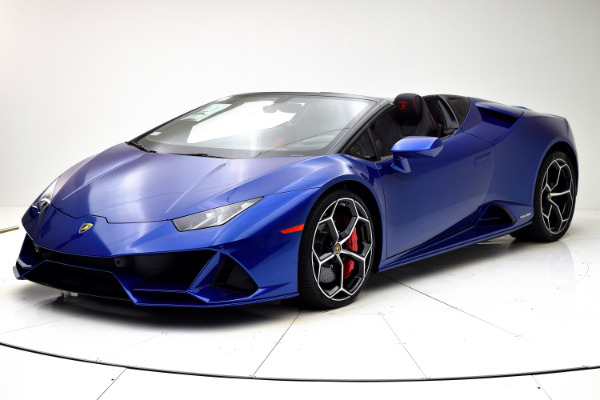 New New 2020 Lamborghini Huracan EVO Spyder for sale $356,325 at F.C. Kerbeck Lamborghini Palmyra N.J. in Palmyra NJ