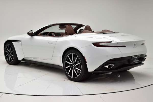 New 2020 Aston Martin DB11 V8 Volante for sale Sold at F.C. Kerbeck Lamborghini Palmyra N.J. in Palmyra NJ 08065 4