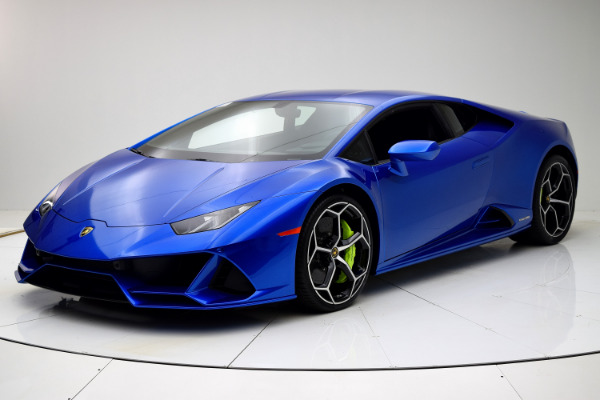 New 2020 Lamborghini Huracan EVO Coupe for sale $317,319 at F.C. Kerbeck Lamborghini Palmyra N.J. in Palmyra NJ 08065 2
