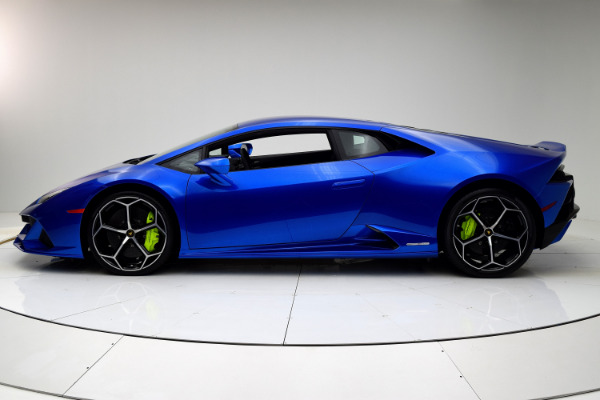 New 2020 Lamborghini Huracan EVO Coupe for sale $317,319 at F.C. Kerbeck Lamborghini Palmyra N.J. in Palmyra NJ 08065 3