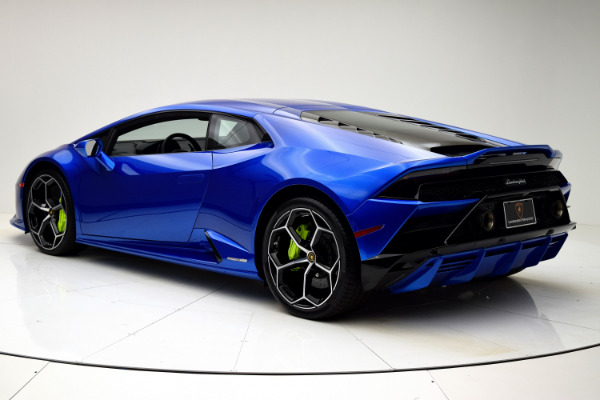 New 2020 Lamborghini Huracan EVO Coupe for sale $317,319 at F.C. Kerbeck Lamborghini Palmyra N.J. in Palmyra NJ 08065 4