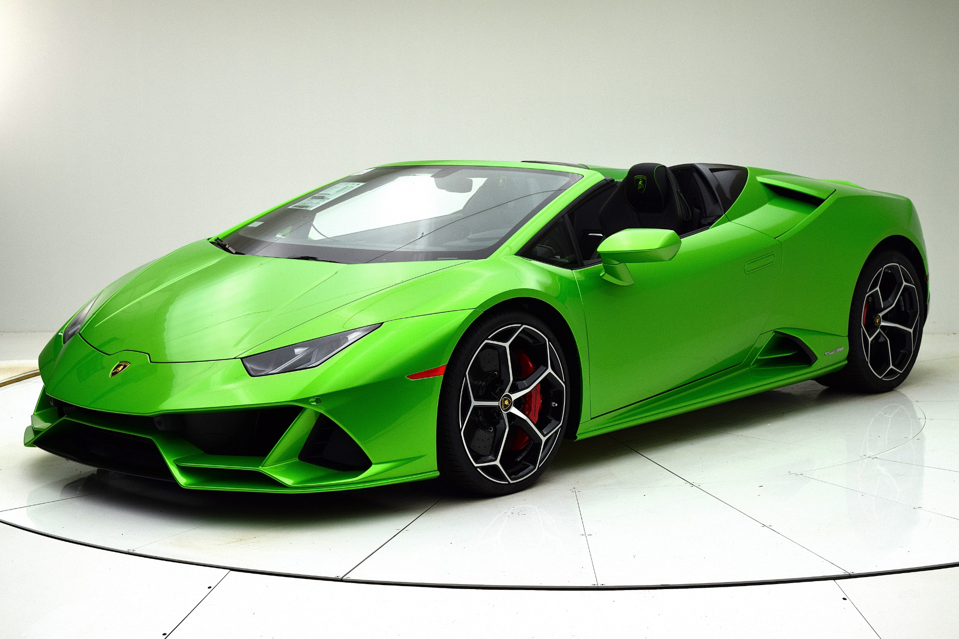 New 2020 Lamborghini Huracan EVO Spyder for sale Sold at F.C. Kerbeck Lamborghini Palmyra N.J. in Palmyra NJ 08065 2