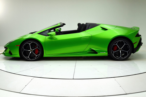 New 2020 Lamborghini Huracan EVO Spyder for sale Sold at F.C. Kerbeck Lamborghini Palmyra N.J. in Palmyra NJ 08065 3