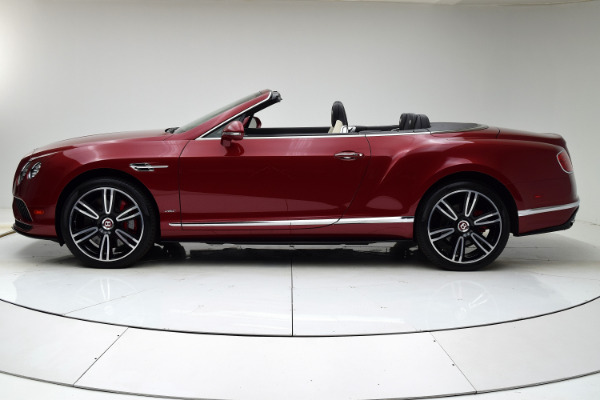 Used 2016 Bentley Continental GT V8 S Convertible for sale $142,880 at F.C. Kerbeck Lamborghini Palmyra N.J. in Palmyra NJ 08065 3