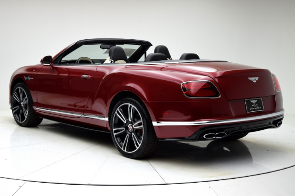 Used 2016 Bentley Continental GT V8 S Convertible for sale $142,880 at F.C. Kerbeck Lamborghini Palmyra N.J. in Palmyra NJ 08065 4