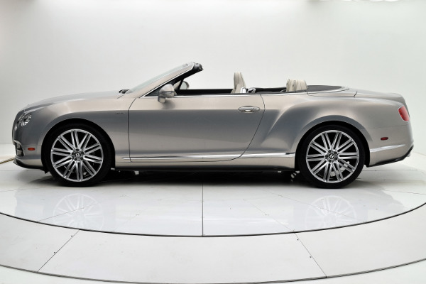 Used 2014 Bentley Continental GT Speed Convertible for sale Sold at F.C. Kerbeck Lamborghini Palmyra N.J. in Palmyra NJ 08065 3